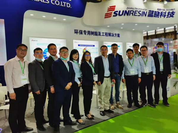 Sunresin Time at the IE Expo China 2021